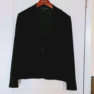 Linda Allard ELLENTRACY Black Jacket Size 10